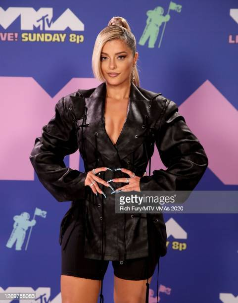Bebe Rexha attends the 2020 MTV Video Music Awards, broadcast on Sunday, August 30th 2020.