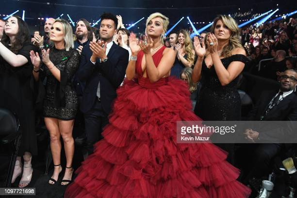 Bebe Rexha attends the 61st Annual GRAMMY Awards at Staples Center on February 10 2019 in Los Angeles California