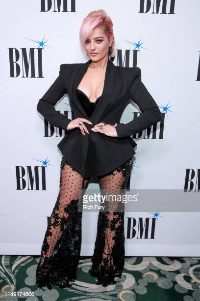 Bebe Rexha attends the 67th Annual BMI Pop Awards at the Beverly Wilshire Four Seasons Hotel on May 14 2019 in Beverly Hills California