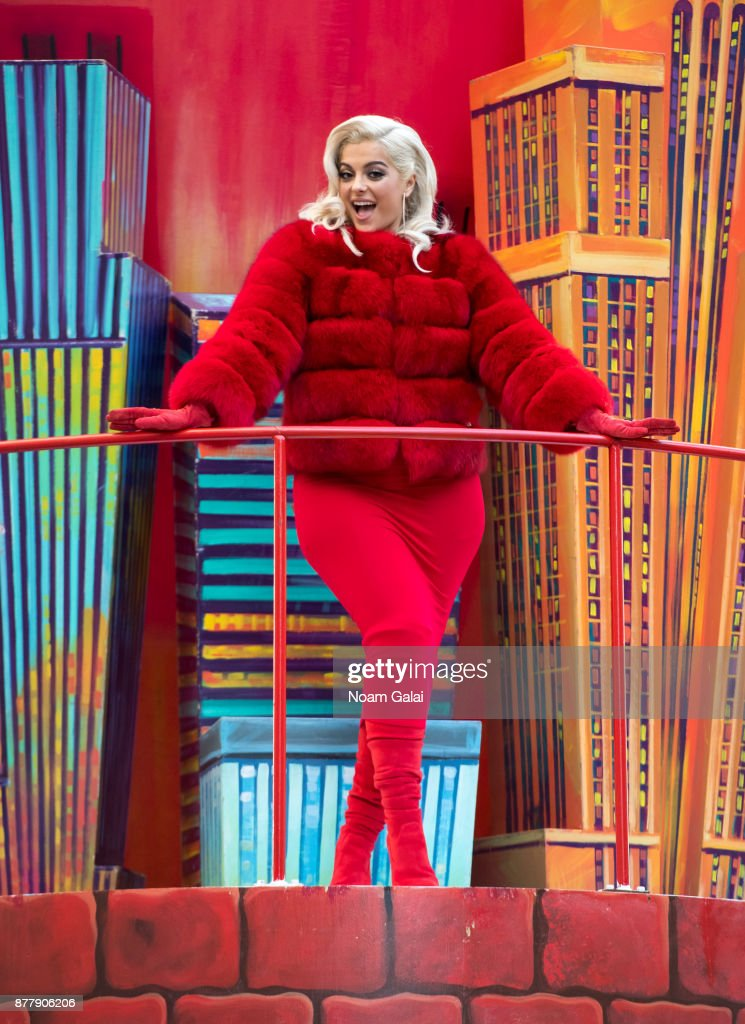 Bebe Rexha attends the 91st Annual Macy's Thanksgiving Day Parade on November 23, 2017 in New York City.