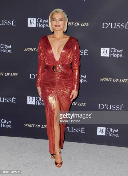 Bebe Rexha attends the City of Hope Gala on October 11 2018 in Los Angeles California