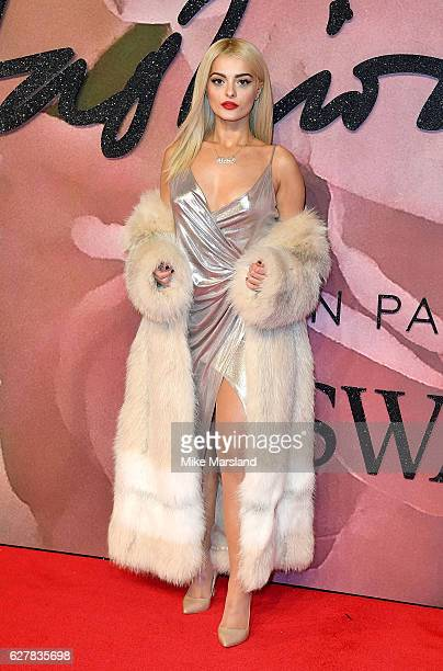 Bebe Rexha attends The Fashion Awards 2016 on December 5 2016 in London United Kingdom