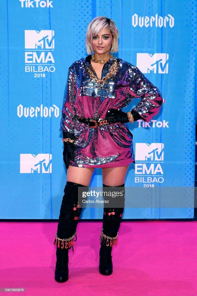 MTV EMAs 2018 - Red Carpet Arrivals : News Photo