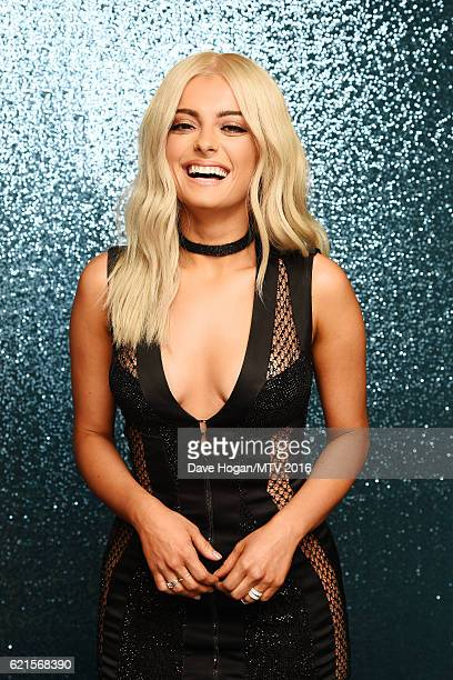 Bebe Rexha attends the MTV Europe Music Awards 2016 on November 6 2016 in Rotterdam Netherlands