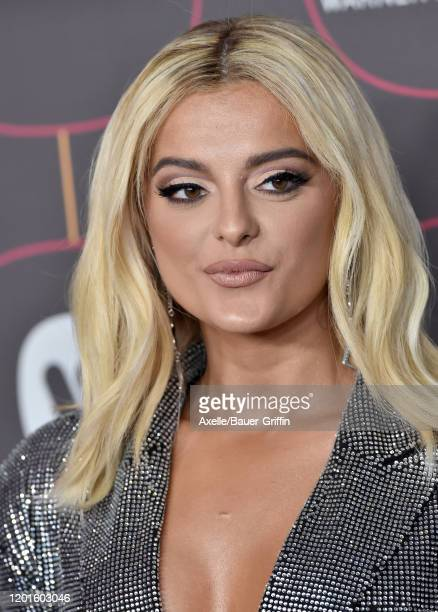 Bebe Rexha attends Warner Music Group Pre-Grammy Party 2020 at Hollywood Athletic Club on January 23, 2020 in Hollywood, California.