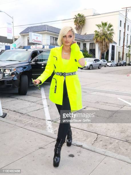 Bebe Rexha is seen on March 23 2019 in Los Angeles California