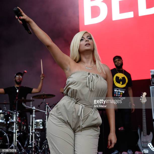 Bebe Rexha performs at Northwell Health at Jones Beach Theater on June 15 2018 in Wantagh New York