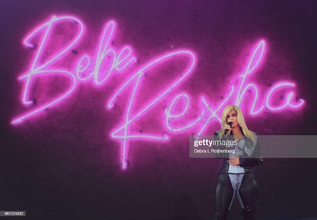 "Bebe Rexha Performs On ABC's ""Good Morning America"""