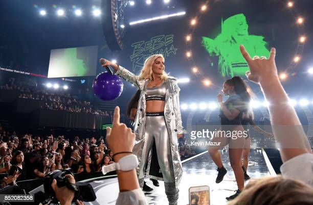Bebe Rexha performs onstage during the 2017 iHeartRadio Music Festival at TMobile Arena on September 22 2017 in Las Vegas Nevada