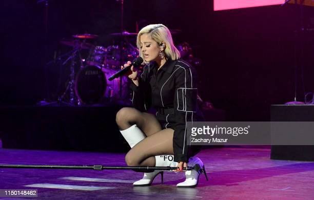 Bebe Rexha performs onstage during the BLI Summer Jam 2019 at Northwell Health at Jones Beach Theater on June 14 2019 in Wantagh New York