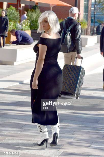 Bebe Rexha seen at BUILD Series LDN at AOL on September 25 2018 in London England