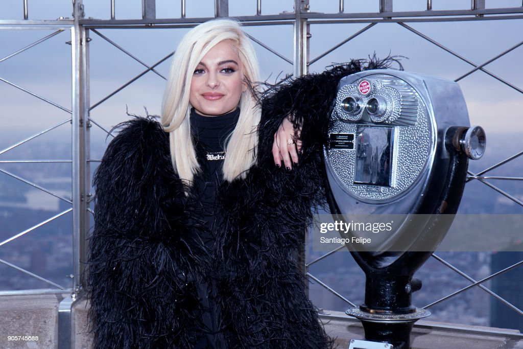Empire State Building Hosts Bebe Rexha