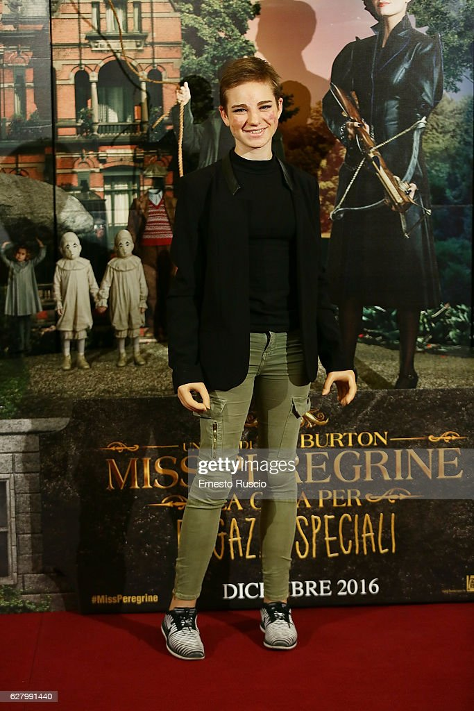 Tim Burton's 'Miss Peregrine's Home for Peculiar Children' Photocall In Rome