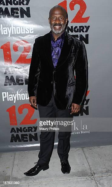 BeBe Winans attends '12 Angry Men' at the Pasadena Playhouse on November 10 2013 in Pasadena California