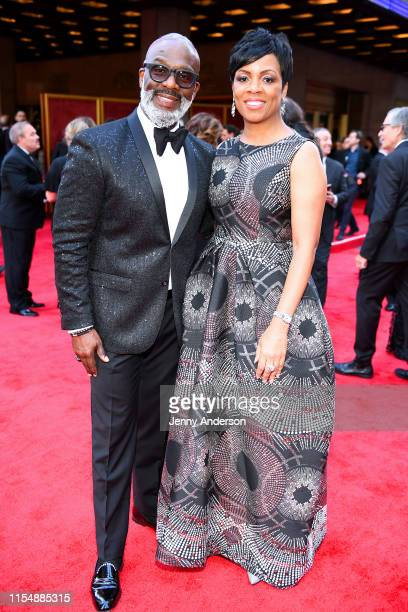 BeBe Winans attends the 73rd Annual Tony Awards at Radio City Music Hall on June 09 2019 in New York City