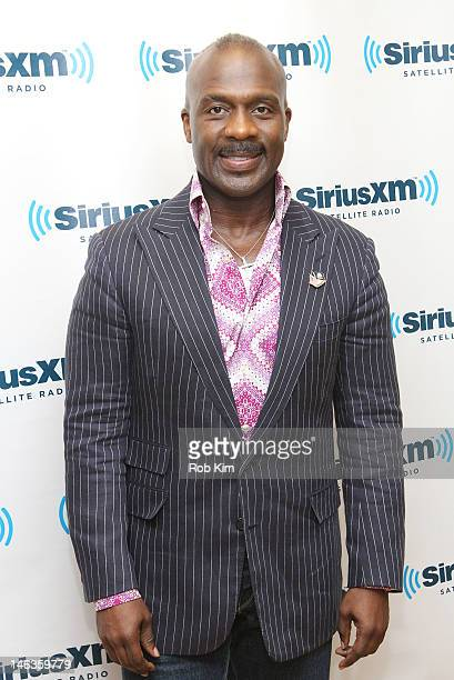 BeBe Winans performs live during a special edition of his SiriusXM show The BeBe Experience on Praise in the SiriusXM Studio on June 14 2012 in New...