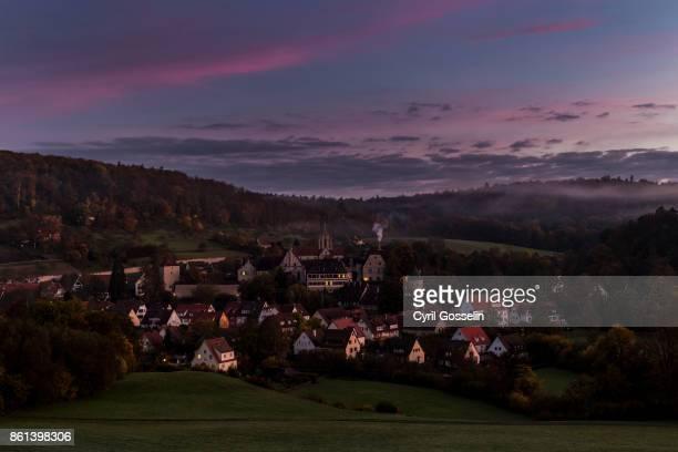 bebenhausen - dämmerung stock pictures, royalty-free photos & images