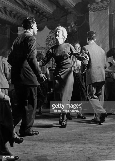 Bebop dancing at Club Eleven