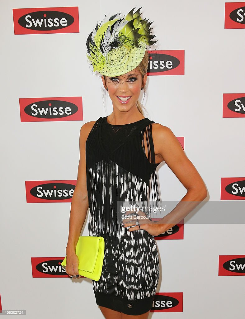Celebrities Attend Melbourne Cup Day