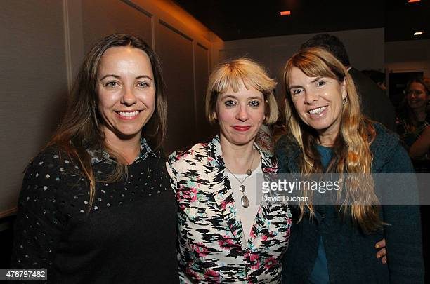 "Bec Smith, Director Carol Morley and Producer Julia Verdin attend BAFTA LA Brits To Watch Screening of Director Carol Morley's film ""The Falling"" at..."