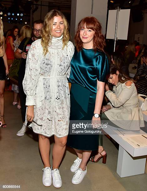 Beca Alexander and Misty Gant attend the Marissa Webb - Front Row & Backstage - September 2016 New York Fashion Week: The Shows at The Gallery,...