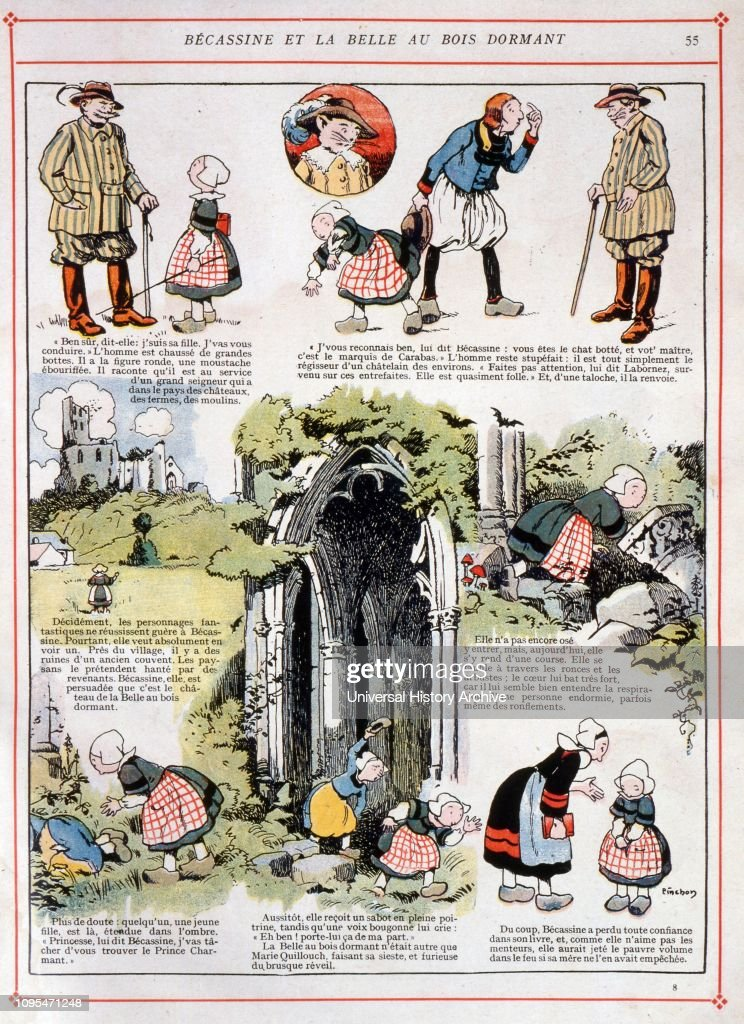 Becassine A French Comic Strip And The Name Of Its Heroine