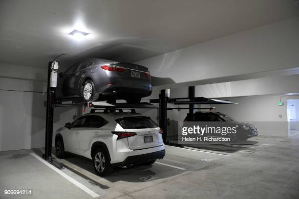 Because parking is a premium anywhere in Denver the new Mirador at Tennyson condominiums have a heated garage with car lifts for double parking at...