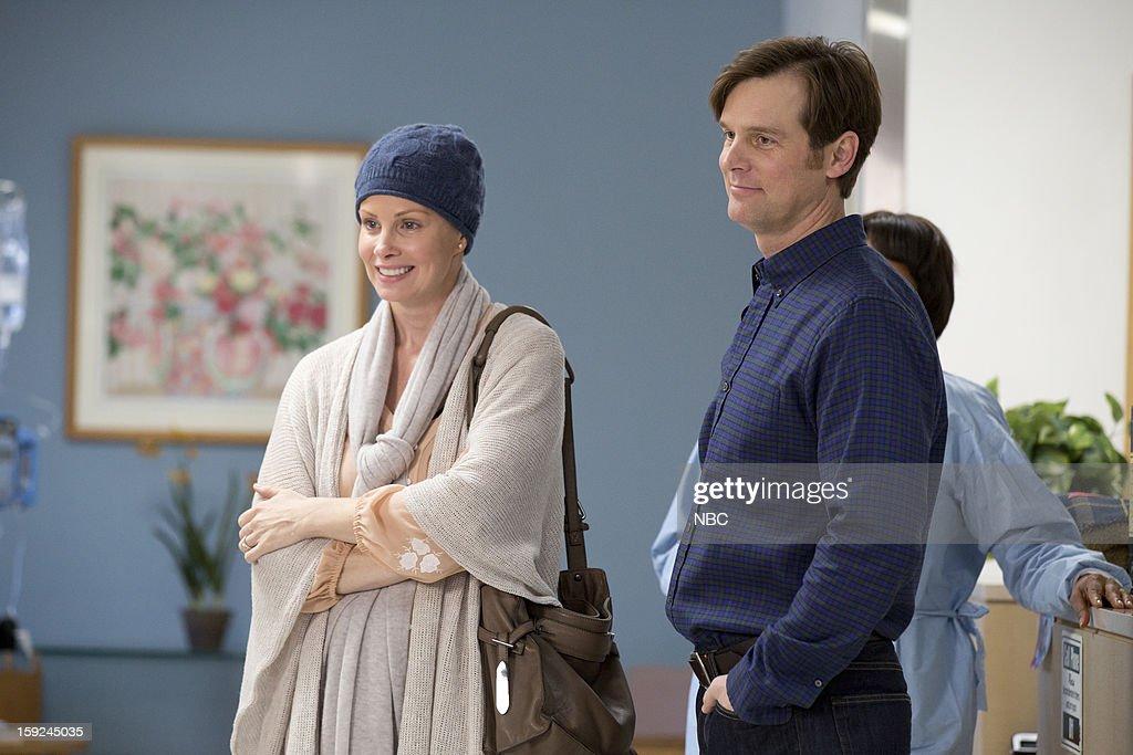 PARENTHOOD -- 'Because You're My Sister' Episode 415 -- Pictured: (l-r) Monica Potter as Kristina Braverman, Peter Krause as Adam Braverman --