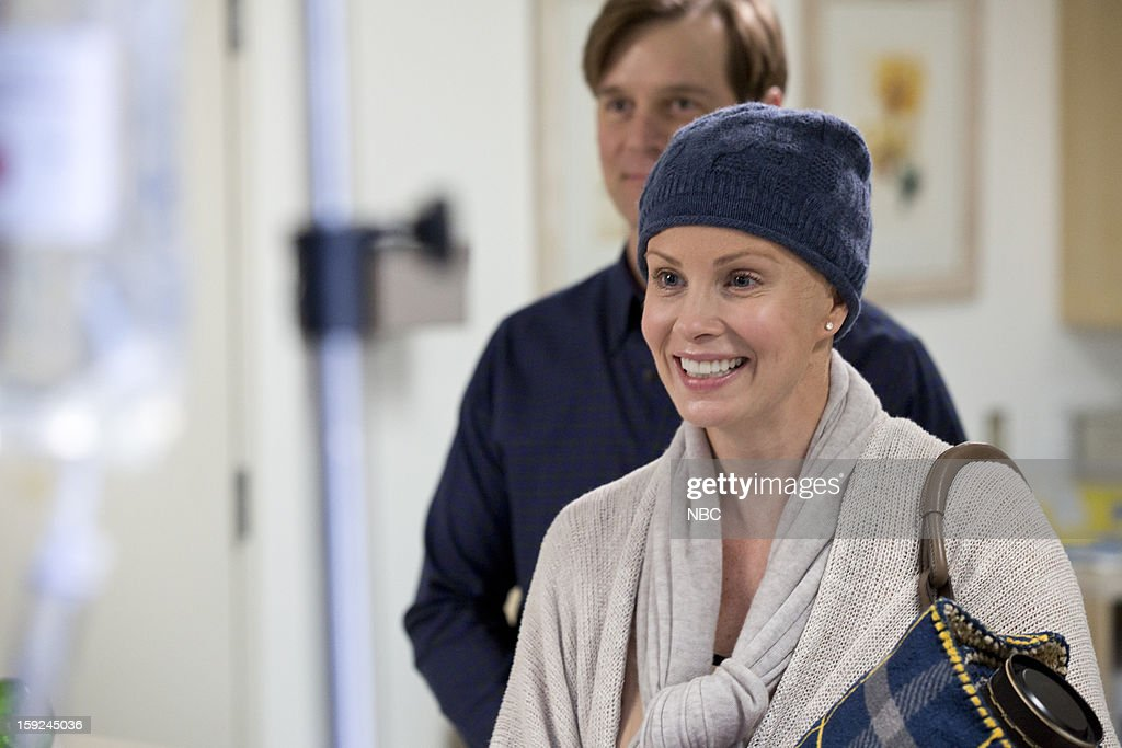 PARENTHOOD -- 'Because You're My Sister' Episode 415 -- Pictured: (l-r) Peter Krause as Adam Braverman, Monica Potter as Kristina Braverman --
