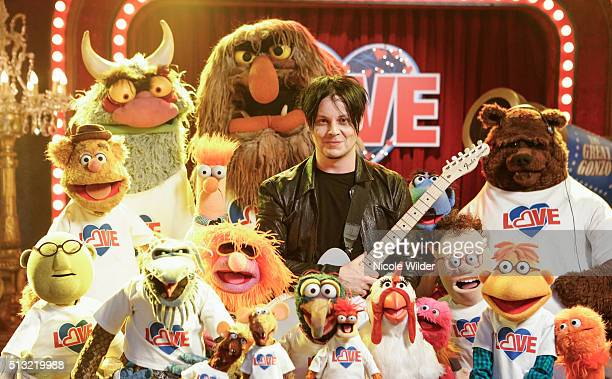 """Because...Love"""" - After her stint in the hospital, Miss Piggy and Kermit reevaluate their relationship, and Kermit turns to Jack White for advice, on..."""