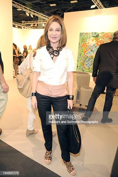 Becca Cason Thrash attends Art Basel Miami Beach at the Miami Beach Convention Center on November 30 2011 in Miami Beach Florida