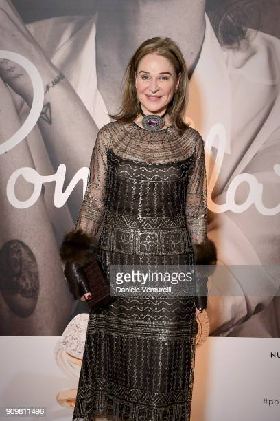 Becca Cason Thrash attends the Cocktail Dinner for the new Pomellato campaign launch with Chiara Ferragni as part of Paris Fashion Week during...