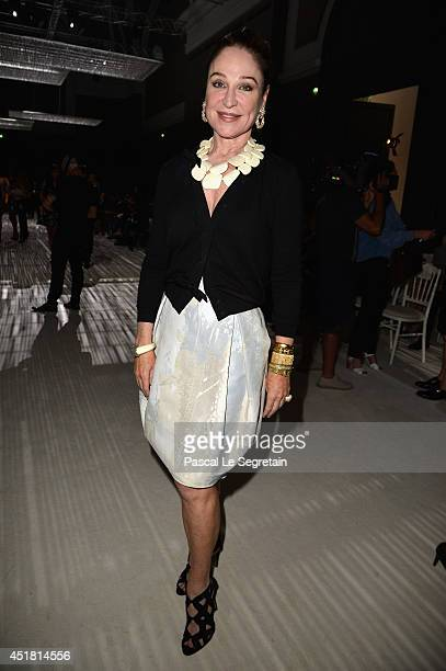 Becca Cason Thrash attends the Giambattista Valli show as part of Paris Fashion Week Haute Couture Fall/Winter 20142015on July 7 2014 in Paris France