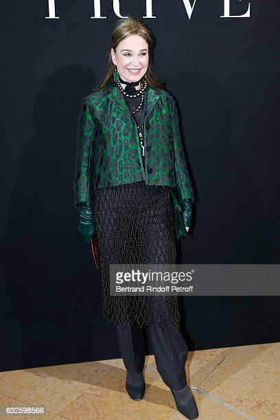 Becca Cason Thrash attends the Giorgio Armani Prive Haute Couture Spring Summer 2017 show as part of Paris Fashion Week on January 24 2017 in Paris...
