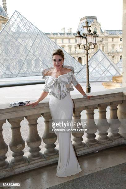 Becca Cason Thrash attends the Liaisons au Louvre IV Evening of patronage for the benefit of the Louvre Museum at Musee du Louvre on June 20 2017 in...