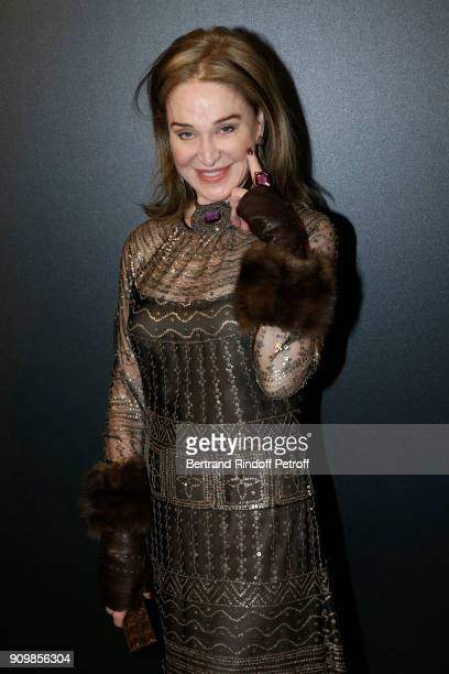Becca Cason Thrash attends the new Pomellato campaign launch with Chiara Ferragni as part of Paris Fashion Week during HauteCouture Spring/Summer...