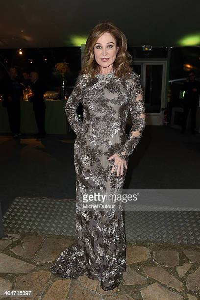 Becca Cason Thrash attends the Sidaction Gala Dinner at Pavillon d'Armenonville on January 23 2014 in Paris France