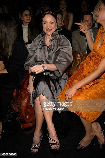 Becca Cason Thrash attends Vera Wang Fall 2006 Fashion Show at The Tent at Bryant Park on February 9 2006 in New York City