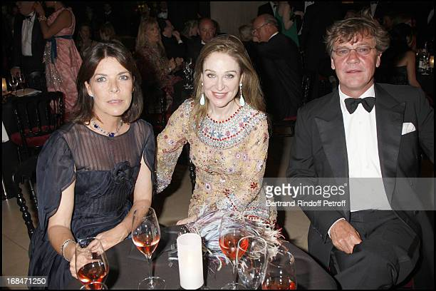Becca Cason Trash Princesse Caroline De Hanovre and Prince Ernst August De Hanovre at Liaisons Au Louvre Fundraiser At Galerie Borghese Daru At The...