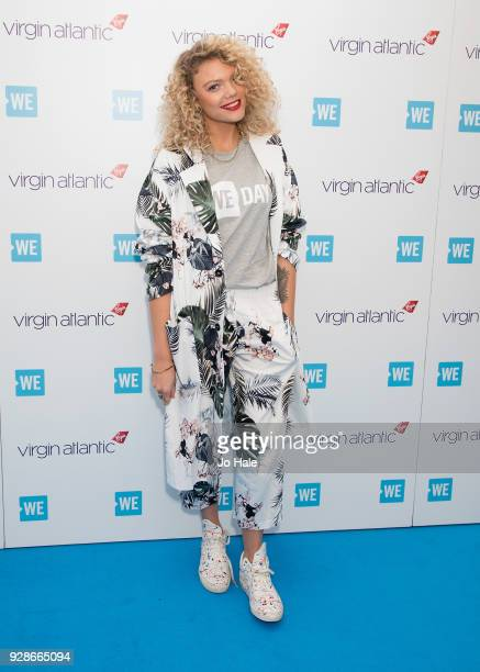 Becca Dudley attends We Day UK at Wembley Arena on March 7 2018 in London England