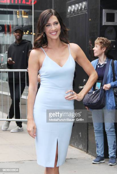 Becca Kufrin is seen on May 29 2018 in New York City