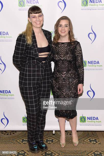Becca McCharenTran and NEDA Chief Executive Officer Claire Mysko attend the National Eating Disorders Association Annual Gala 2018 at The Pierre...