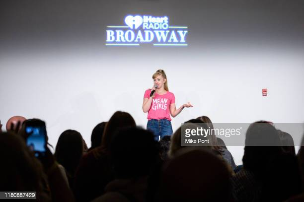 Becca Peterson performs at Four Roses Bourbon's Broadway Tastes presented by iHeartRadio Broadway hosted by Alex Brightman with special guest Randy...