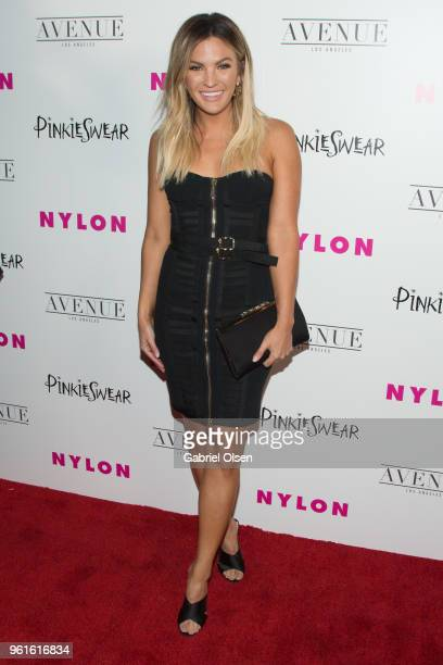 Becca Tilley arrives for NYLON Hosts Annual Young Hollywood Party at Avenue on May 22 2018 in Los Angeles California