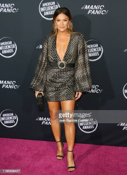 Becca Tilley attends the 2nd Annual American Influencer Awards at Dolby Theatre on November 18 2019 in Hollywood California