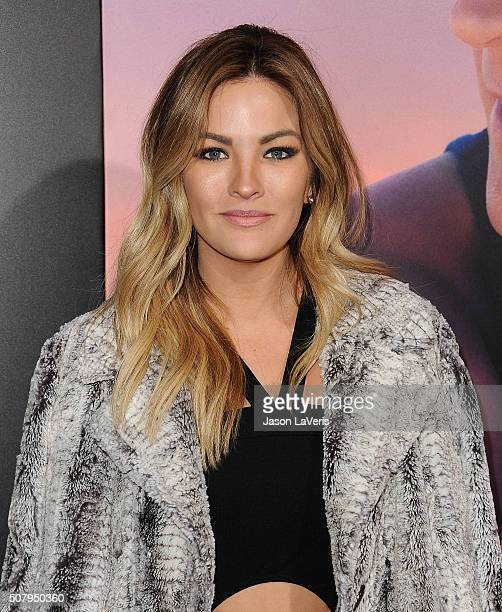 Becca Tilley attends the premiere of The Choice at ArcLight Cinemas on February 1 2016 in Hollywood California