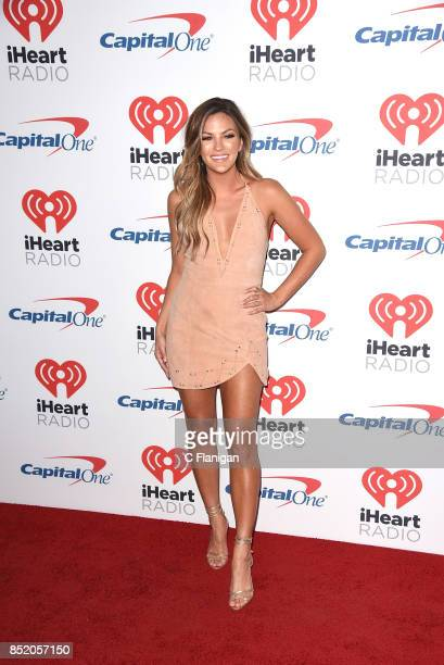 Becca Tilley from the show 'The Bachelor' attends the 2017 iHeartRadio Music Festival at TMobile Arena on September 22 2017 in Las Vegas Nevada