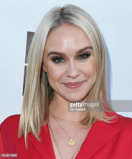 Becca Tobin attends 'Billy Boy' Los Angeles Premiere at Laemmle Music Hall on June 12 2018 in Beverly Hills California