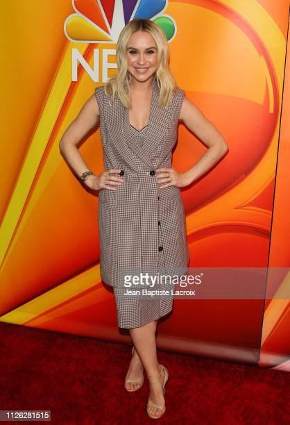 Becca Tobin attends NBC's Los Angeles MidSeason Press Junket on February 20 2019 in Los Angeles California
