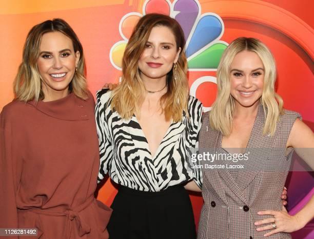 Becca Tobin Keltie Knight and Jac Vanek attend NBC's Los Angeles MidSeason Press Junket on February 20 2019 in Los Angeles California